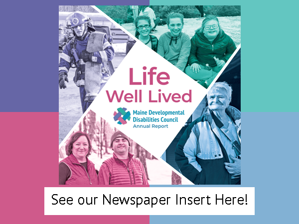 Website Button - A Life Well Lived Newspaper Insert
