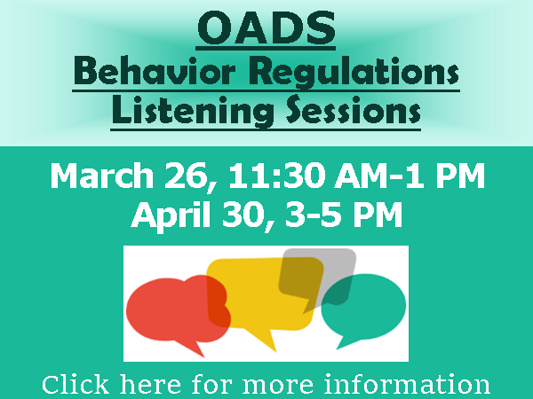 Website button rectangular OADS Behavior Management Listening Sessions 2021