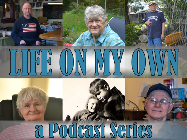 Picture Link to Podcasts - a collection of pictures of former Pineland Residents who have told their stories